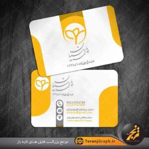 کارت ویزیت بیمه پارسیان