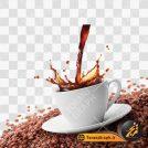 عکس PNG قهوه