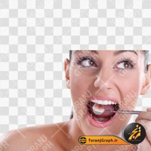 عکس PNG معاینه دندان و لثه