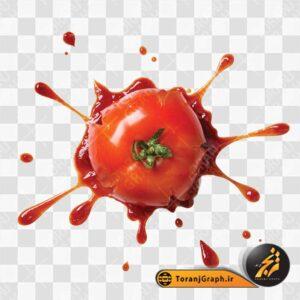 عکس png رب گوجه فرنگی