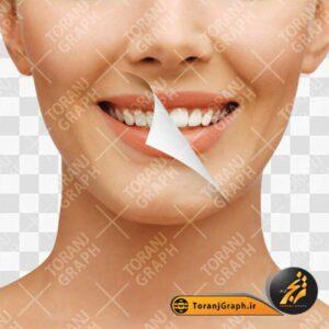 عکس png دندان سفید