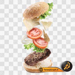 "<span itemprop=""name"">تصویر png ساندویچ همبرگر</span>"