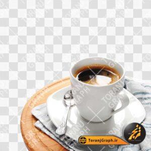 تصویر png فنجان کافه