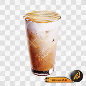 عکس png قهوه سرد