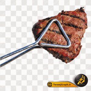 عکس png استیک گوشت