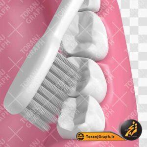 عکس png دندان و مسواک