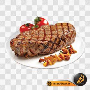 تصویر گوشت سرخ شده
