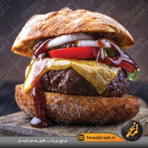 """<span itemprop=""""name"""">عکس با کیفیت ساندویچ همبرگر</span>"""