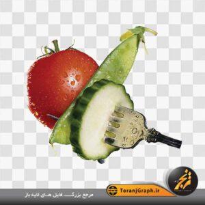 <span>تصویر خیار و گوجه</span>