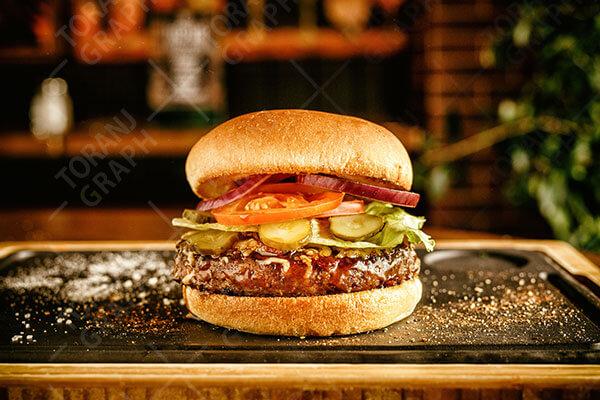 عکس ساندویچ همبرگر با کیفیت