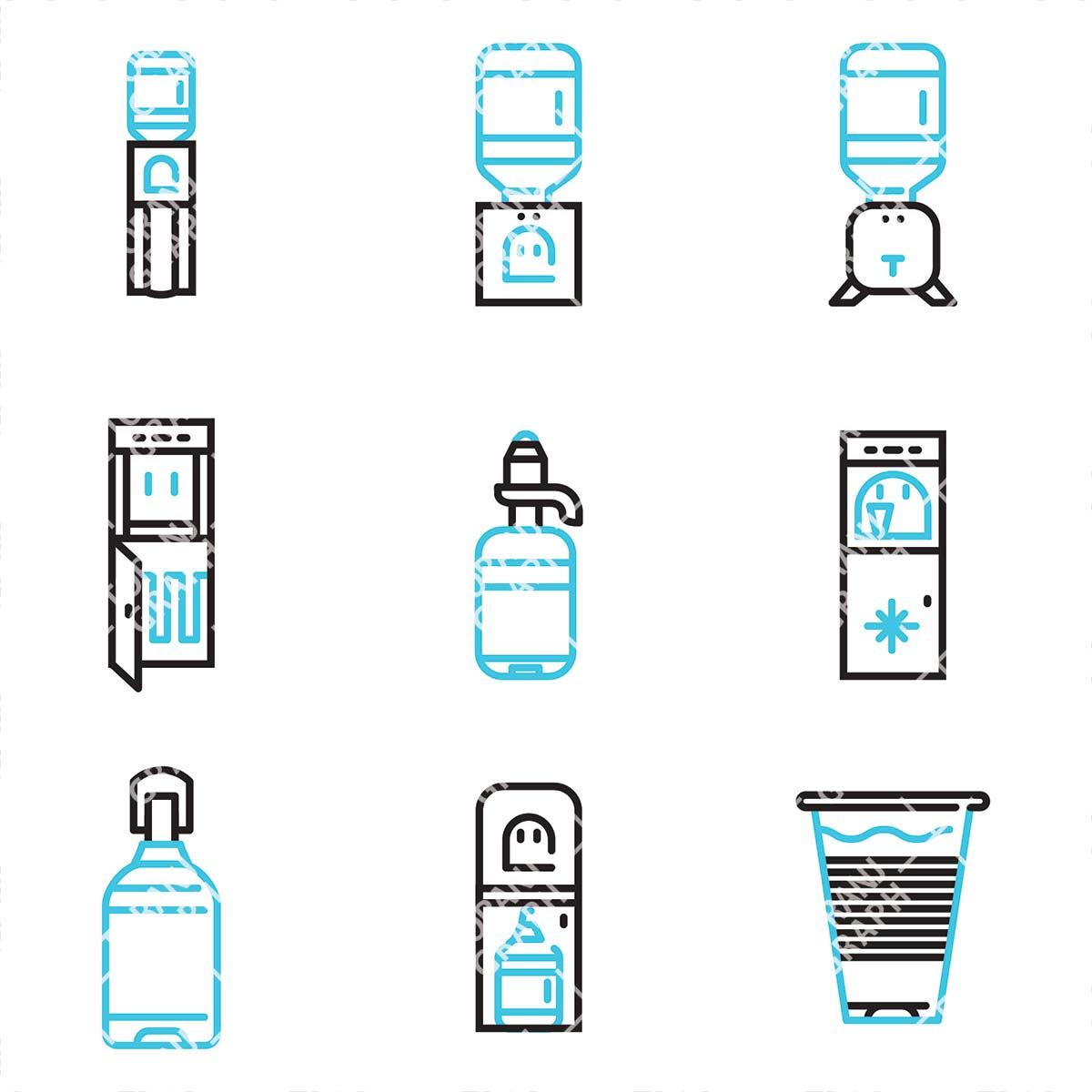 وکتور لایه باز آبسردکن و دستگاه تصفیه آب